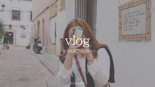 [끄적끄적 여행vlog] 바르셀로나 전통시장에서 2주만…