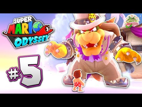 SUPER MARIO ODYSSEY Part 5 - LOST KINGDOM - BOWSER FIGHT!