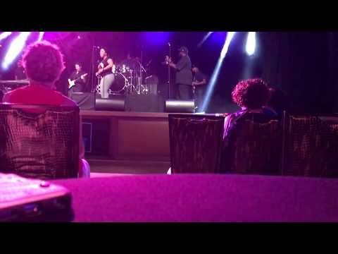 Secret Society band performing at Rams Head Center Stage. 8/15/17 pt 1