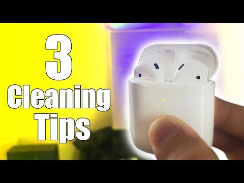 3-important-tips-when-cleaning-airpods-to-fix-volume,-charging-issues