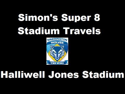 Simon's Super 8 Stadium Travels - Halliwell Jones Stadium