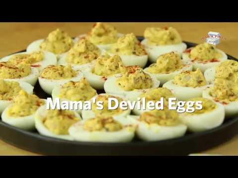 Mama's Deviled Eggs Recipe