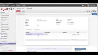 Advance payment and Recuring entry in odoo