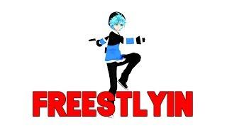 【MMD】Freestylin | Fortnite dance + Motion DL