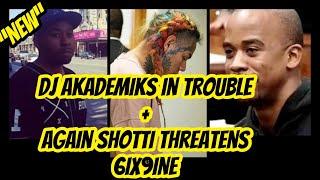 """DJ Akademiks In Trouble with TreyWay!!!  + TreyWay (Shotti) Threatens 6ix9ine """"AGAIN"""""""