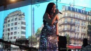 Novita Dewi - Halo (Beyonce Cover) Live @ Kempinski Ballroom | Dave Music Ent.
