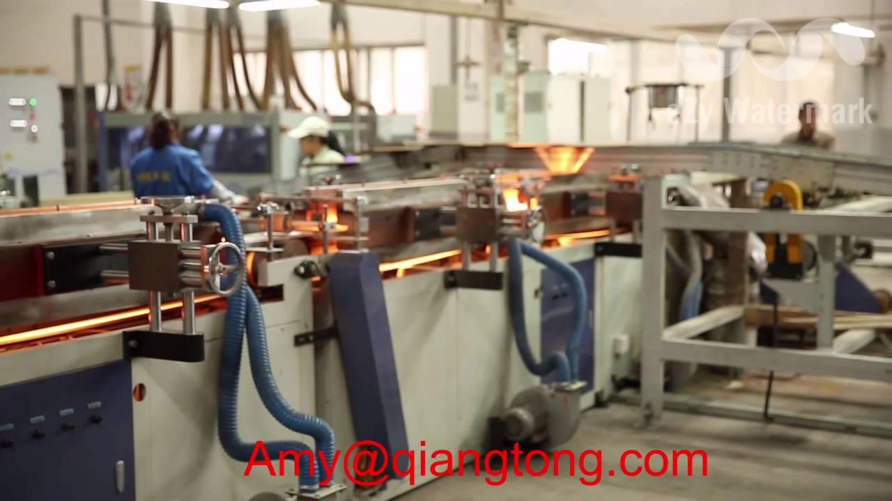 Laminate Flooring Production Line Wood