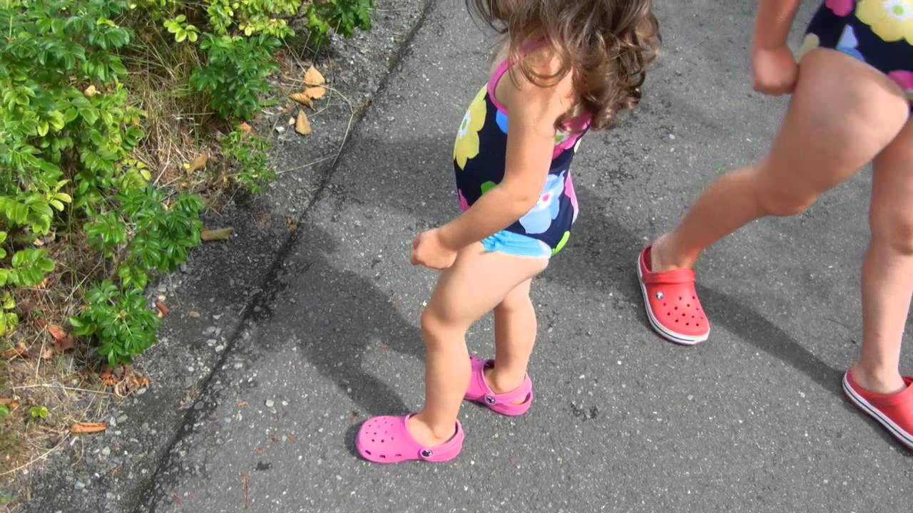 S Cute 2 Year Old Swimming Suit And Shoes On Backwards Dscn5347