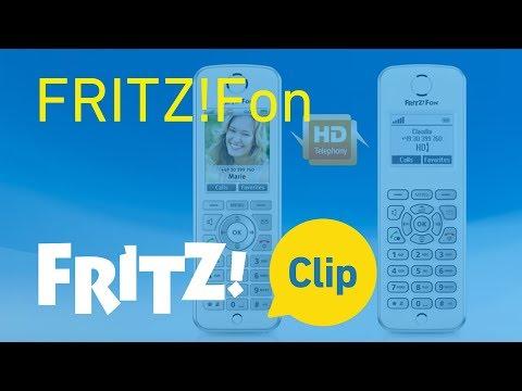 FRITZ! Clip – FRITZ!Fon instellen en functies leren kennen