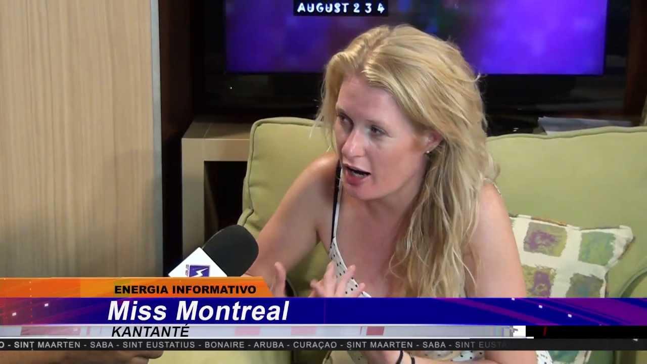 Miss Montreal Bij Energiavision Op Bonaire 2 Augustus 2013 Youtube
