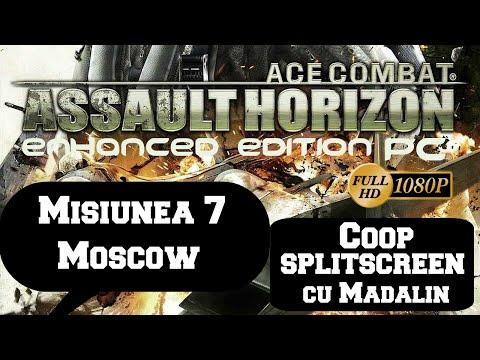 Ace Combat Assault Horizon - Coop SPLITSCREEN cu Madalin - Misiunea 7 - Moscow PC/HD [1080p]