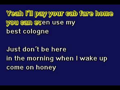 Rod Stewart - Stay With Me - Karaoke