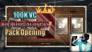 NBA 2K15 PS4 MyTEAM - FACECAM Ruby All Time Scorers Pack Opening!!