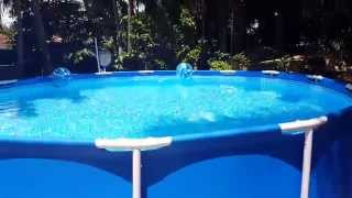 Intex Pool and Saltwater system/SandFilter Review