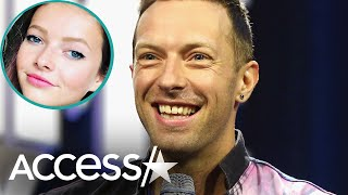 Gambar cover Chris Martin Pulled The Ultimate Dad Move By Embarrassing Daughter Apple At Work