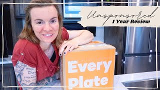 Unsponsored Every Plate 1 Year Review - Meal Delivery Service - Honest Opinion This Faithful Home