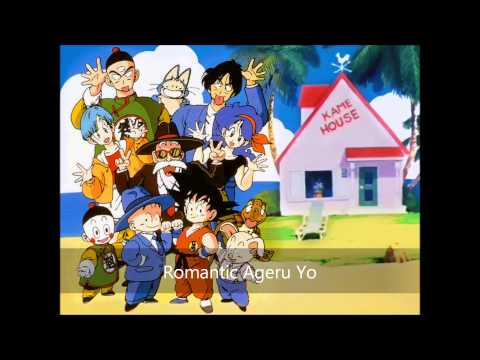 Dragon Ball ED - Romantic ageru yo