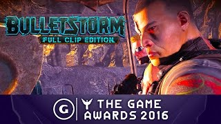 Bulletstorm Full Clip Edition - Announcement Trailer | The Game Awards 2016