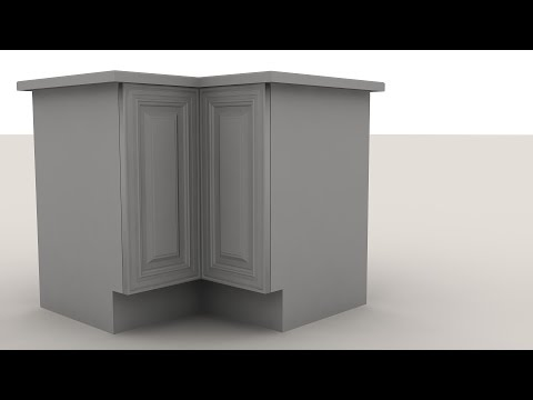 Уроки 3ds Max для начинающих. Моделирование кухонной мебели в 3ds Max