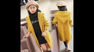[Knitting]Hướng dẫn đan áo khoác dáng dài có mũ
