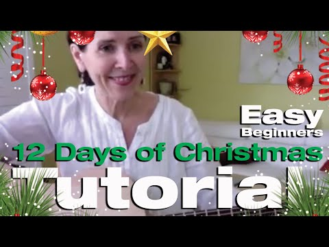 12 Days of Christmas - Guitar Tuition - YouTube