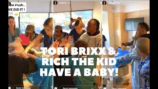 Tori Brixx Gives Birth To Rich The Kid's Son + L A  City Council Renames Crenshaw & Slauson To Nipse