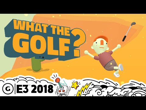 This Is The Most Ridiculous Golf Game Ever | The MIX E3 2018