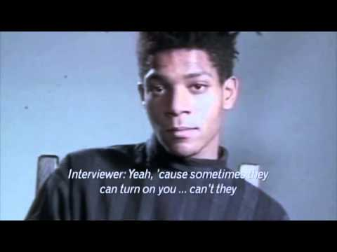 Jean Michel Basquiat 1985 interview
