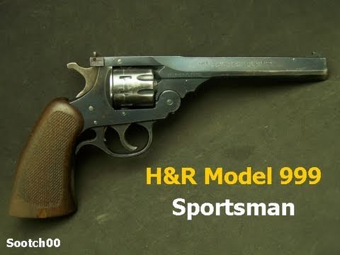 H&R 999 Sportsman 22LR Top Break Revolver