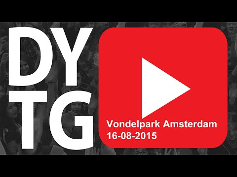 Naar DYTG in het Vonderlpark Amsterdam 2015 met the wolfe gamer