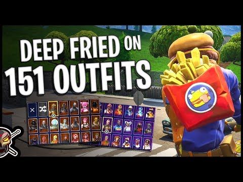 Deep Fried Back Bling On 151 Outfits | Beef Boss - Fortnite Cosmetics