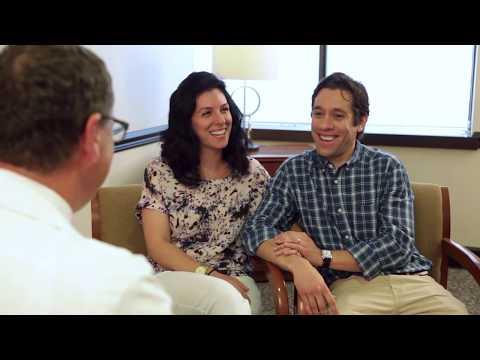 Emotional Couple Discusses Fertility Journey with Fertility Specialist Dr. Arthur Castelbaum at RMA