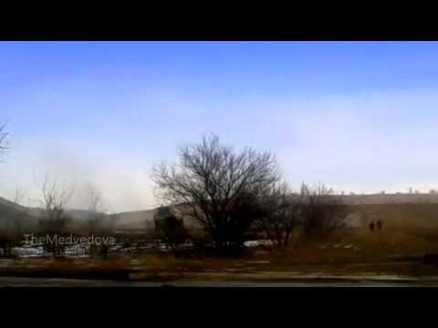 LC art works on forces ATO - Ukraine Artillery Militia fires 15 02 2015.Ukraine War,News Today!