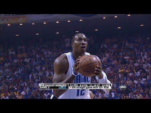 Dwight Howard 16 Pts 21 Reb 9 Blocks NBA FINALS 2009 G4 vs lakers