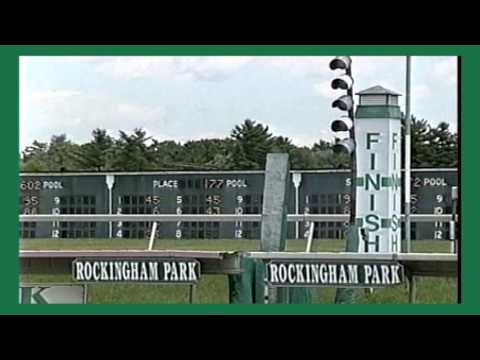 A Look Back at Rockingham Park Salem NH: The Announcers Booth & a race ATSBK clip