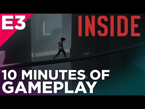 10 Minutes of INSIDE Gameplay:LIMBO's Spiritual Successor at E3 2016