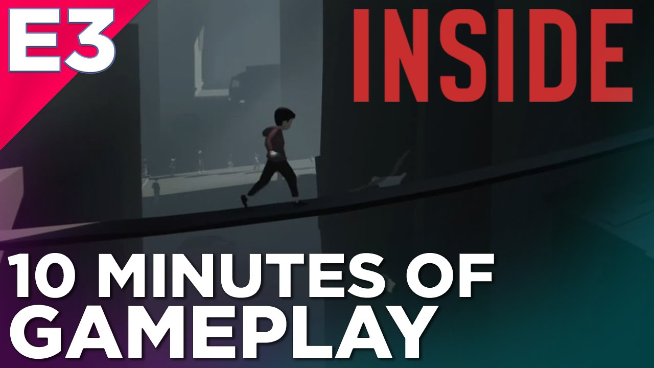 10 minutes of inside gameplay limbo s spiritual successor at e3