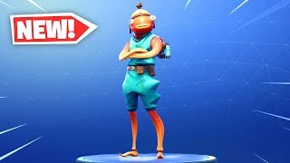"The New ""FISHSTICK"" Skin Gameplay in Fortnite.."