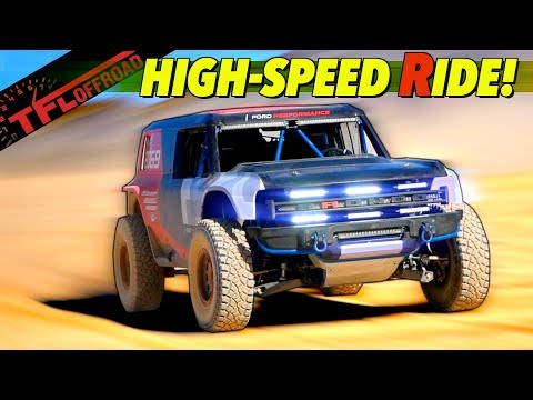 First Ride! See And Hear The 2020 Ford Bronco R Baja Racer In Action