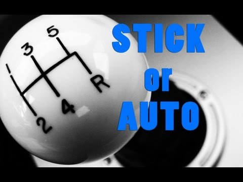 Which is better, manual or automatic transmission? Paddle shift or stick shift? Ending the debate!