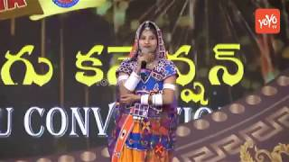 Teenmar Mangli Telangana Songs Performance in America   Folk Songs Craze in Dallas, USA   YOYO TV