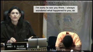 Emotions run high when judge recognizes suspect