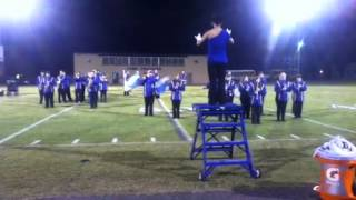 """Bledsoe County Warrior Band of Blue 2012-2013 """"woman of pop"""