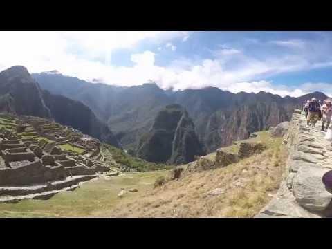 Machu Picchu - Peru. GoPro HERO 4 SILVER.