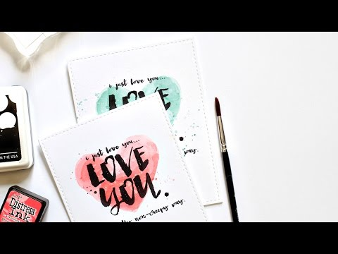 Easy Backgrounds For Bold Sentiments