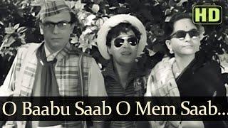 O Babu Saab O Mem Saab (HD) - Talaq Songs - Rajendra Kumar - Kamini Kadam - Manna Dey - Asha