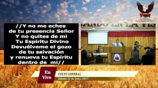 Culto General - Sabado 22.07.17