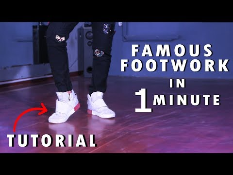 Dance Course  डांस कोर्स  Day 6   सीखिए Famous Footwork Easy & Simple Hip Hop