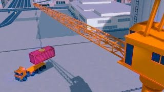 Cargo Ship Construction Crane [Android Gameplay HD Video]