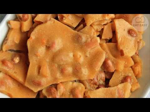 Microwave Oven Peanut Brittle. REAL JAM!